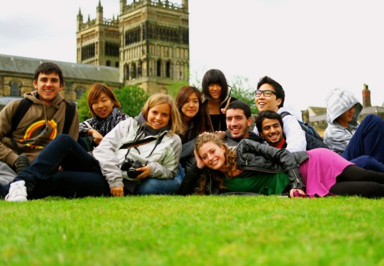 Group of students in York